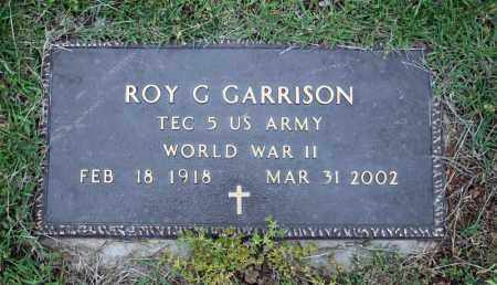 GARRISON (VETERAN WWII), ROY G - Searcy County, Arkansas | ROY G GARRISON (VETERAN WWII) - Arkansas Gravestone Photos