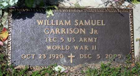 GARRISON (VETERAN WWII), WILLIAM SAMUEL - Searcy County, Arkansas | WILLIAM SAMUEL GARRISON (VETERAN WWII) - Arkansas Gravestone Photos