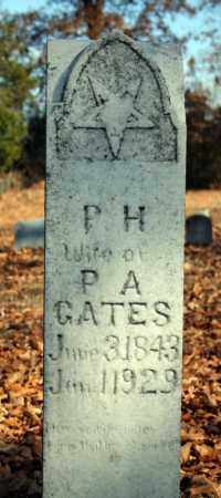 GATES, P. H. - Searcy County, Arkansas | P. H. GATES - Arkansas Gravestone Photos