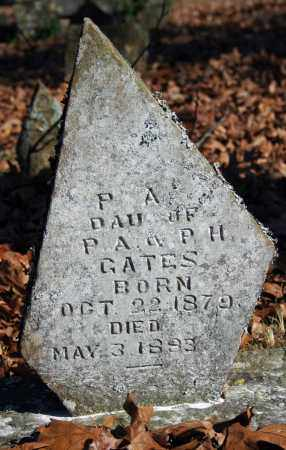 GATES, P.A. - Searcy County, Arkansas | P.A. GATES - Arkansas Gravestone Photos