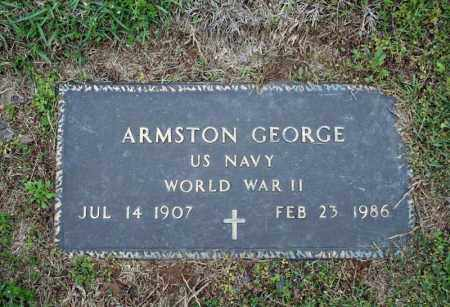 GEORGE (VETERAN WWII), ARMSTON - Searcy County, Arkansas | ARMSTON GEORGE (VETERAN WWII) - Arkansas Gravestone Photos