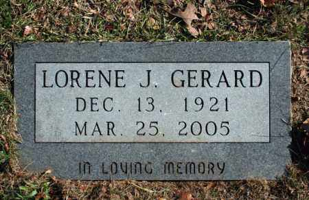 GERARD, LORENE J. - Searcy County, Arkansas | LORENE J. GERARD - Arkansas Gravestone Photos