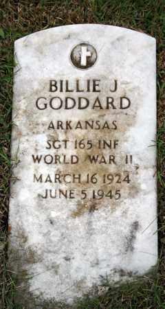 GODDARD (VETERAN WWII), BILLIE J - Searcy County, Arkansas | BILLIE J GODDARD (VETERAN WWII) - Arkansas Gravestone Photos