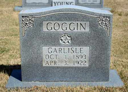 GOGGIN, GARLISLE - Searcy County, Arkansas | GARLISLE GOGGIN - Arkansas Gravestone Photos