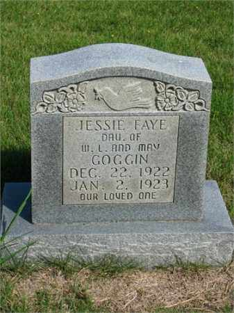 GOGGIN, JESSIE FAYE - Searcy County, Arkansas | JESSIE FAYE GOGGIN - Arkansas Gravestone Photos