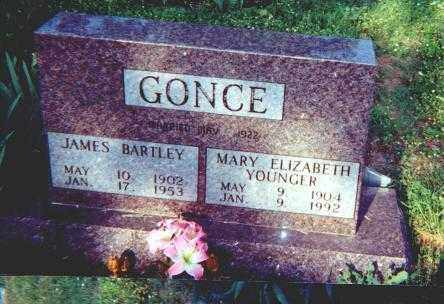 GONCE, MARY ELIZABETH - Searcy County, Arkansas | MARY ELIZABETH GONCE - Arkansas Gravestone Photos