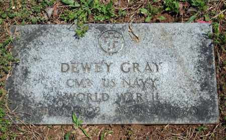 GRAY (VETERAN WWII), DEWEY - Searcy County, Arkansas | DEWEY GRAY (VETERAN WWII) - Arkansas Gravestone Photos