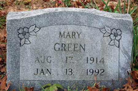 GREEN, MARY - Searcy County, Arkansas | MARY GREEN - Arkansas Gravestone Photos