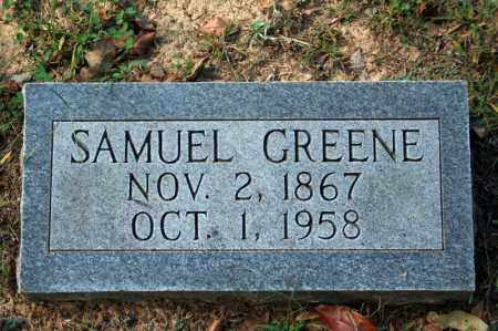 GREENE, SAMUEL - Searcy County, Arkansas | SAMUEL GREENE - Arkansas Gravestone Photos