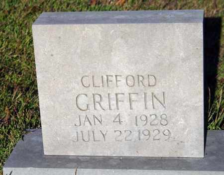GRIFFIN, CLIFFORD - Searcy County, Arkansas | CLIFFORD GRIFFIN - Arkansas Gravestone Photos