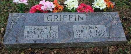 GRIFFIN, VENIA - Searcy County, Arkansas | VENIA GRIFFIN - Arkansas Gravestone Photos