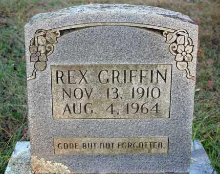 GRIFFIN, REX - Searcy County, Arkansas   REX GRIFFIN - Arkansas Gravestone Photos
