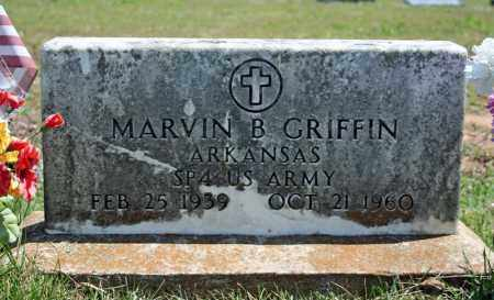 GRIFFIN (VETERAN), MARVIN B - Searcy County, Arkansas | MARVIN B GRIFFIN (VETERAN) - Arkansas Gravestone Photos