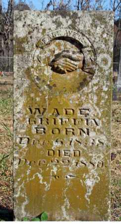 GRIFFIN, WADE - Searcy County, Arkansas | WADE GRIFFIN - Arkansas Gravestone Photos