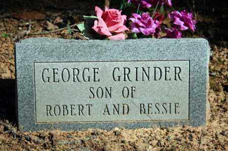 GRINDER, GEORGE - Searcy County, Arkansas | GEORGE GRINDER - Arkansas Gravestone Photos