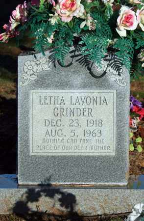 GRINDER, LETHA LAVONIA (BLAIR) - Searcy County, Arkansas | LETHA LAVONIA (BLAIR) GRINDER - Arkansas Gravestone Photos