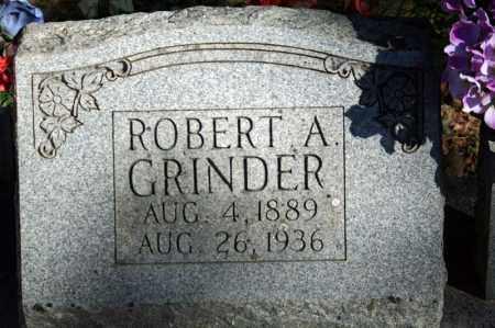 GRINDER, ROBERT A. - Searcy County, Arkansas | ROBERT A. GRINDER - Arkansas Gravestone Photos