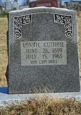 GUTHRIE, LONNIE - Searcy County, Arkansas | LONNIE GUTHRIE - Arkansas Gravestone Photos