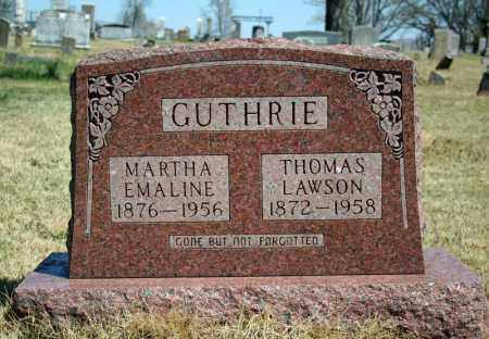 GUTHRIE, MARTHA EMALINE - Searcy County, Arkansas | MARTHA EMALINE GUTHRIE - Arkansas Gravestone Photos