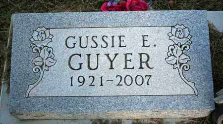 GUYER, GUSSIE E. - Searcy County, Arkansas | GUSSIE E. GUYER - Arkansas Gravestone Photos