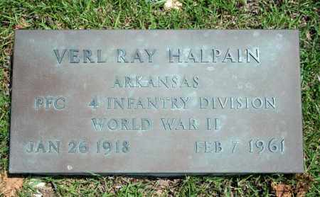 HALPAIN (VETERAN WWII), VERL RAY - Searcy County, Arkansas | VERL RAY HALPAIN (VETERAN WWII) - Arkansas Gravestone Photos