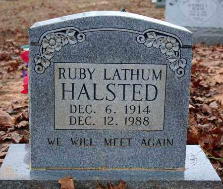 HALSTED, RUBY - Searcy County, Arkansas | RUBY HALSTED - Arkansas Gravestone Photos