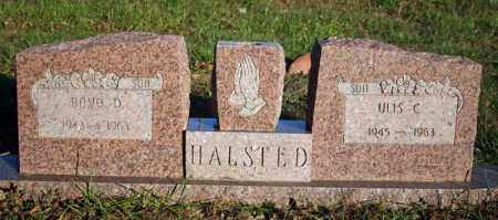 HALSTED, BOYD D. - Searcy County, Arkansas | BOYD D. HALSTED - Arkansas Gravestone Photos