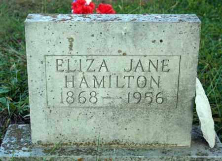 ROBERTSON HAMILTON, ELIZA JANE - Searcy County, Arkansas | ELIZA JANE ROBERTSON HAMILTON - Arkansas Gravestone Photos