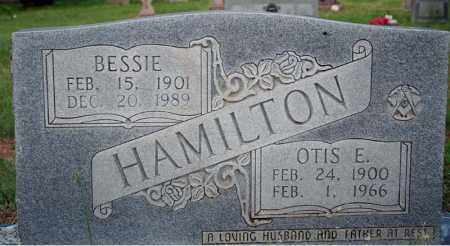 HAMILTON, OTIS E. - Searcy County, Arkansas | OTIS E. HAMILTON - Arkansas Gravestone Photos