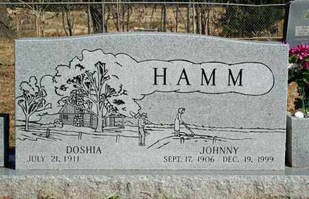 HAMM, DOSHIA - Searcy County, Arkansas | DOSHIA HAMM - Arkansas Gravestone Photos