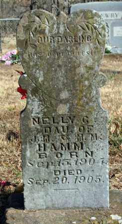 HAMM, NELLY G. - Searcy County, Arkansas | NELLY G. HAMM - Arkansas Gravestone Photos