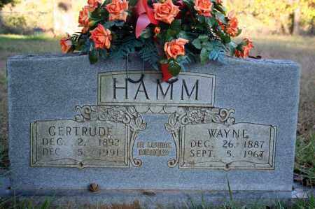 HAMM, GERTRUDE - Searcy County, Arkansas | GERTRUDE HAMM - Arkansas Gravestone Photos