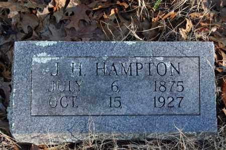 HAMPTON, J.H. - Searcy County, Arkansas   J.H. HAMPTON - Arkansas Gravestone Photos