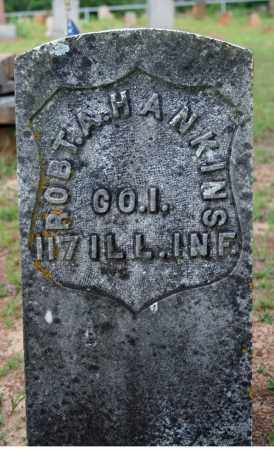 HANKINS (VETERAN UNION), ROBERT A. - Searcy County, Arkansas | ROBERT A. HANKINS (VETERAN UNION) - Arkansas Gravestone Photos
