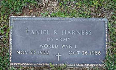 HARNESS (VETERAN WWII), DANIEL R - Searcy County, Arkansas | DANIEL R HARNESS (VETERAN WWII) - Arkansas Gravestone Photos