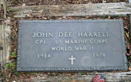 HARRELL (VETERAN WWII), JOHN DEE - Searcy County, Arkansas | JOHN DEE HARRELL (VETERAN WWII) - Arkansas Gravestone Photos
