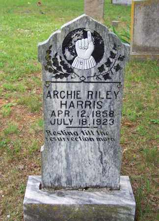 HARRIS, ARCHIE RILEY - Searcy County, Arkansas | ARCHIE RILEY HARRIS - Arkansas Gravestone Photos