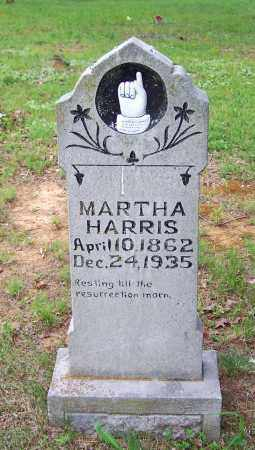 HARRIS, MARTHA - Searcy County, Arkansas | MARTHA HARRIS - Arkansas Gravestone Photos