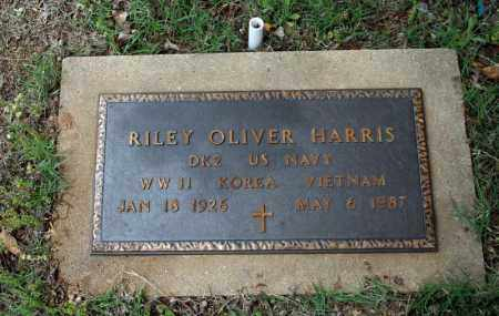 HARRIS (VETERAN 3 WARS), RILEY OLIVER - Searcy County, Arkansas | RILEY OLIVER HARRIS (VETERAN 3 WARS) - Arkansas Gravestone Photos