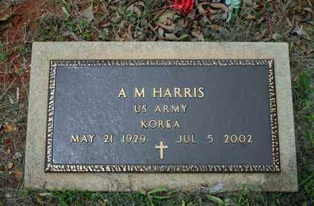 HARRIS (VETERAN KOR), A M - Searcy County, Arkansas | A M HARRIS (VETERAN KOR) - Arkansas Gravestone Photos