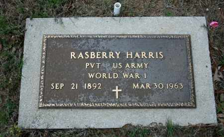 HARRIS (VETERAN WWI), RASBERRY - Searcy County, Arkansas | RASBERRY HARRIS (VETERAN WWI) - Arkansas Gravestone Photos