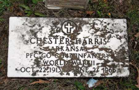 HARRIS (VETERAN WWII), CHESTER - Searcy County, Arkansas | CHESTER HARRIS (VETERAN WWII) - Arkansas Gravestone Photos