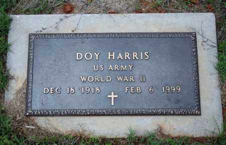 HARRIS (VETERAN WWII), DOY - Searcy County, Arkansas | DOY HARRIS (VETERAN WWII) - Arkansas Gravestone Photos