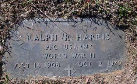 HARRIS (VETERAN WWII), RALPH R - Searcy County, Arkansas | RALPH R HARRIS (VETERAN WWII) - Arkansas Gravestone Photos