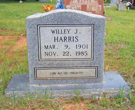 HARRIS, WILLEY J. - Searcy County, Arkansas | WILLEY J. HARRIS - Arkansas Gravestone Photos