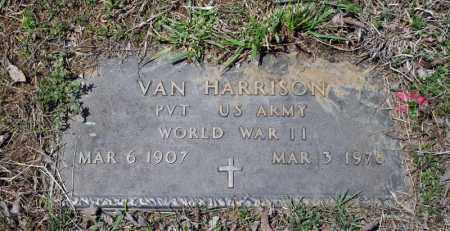 HARRISON (VETERAN WWII), VAN - Searcy County, Arkansas | VAN HARRISON (VETERAN WWII) - Arkansas Gravestone Photos