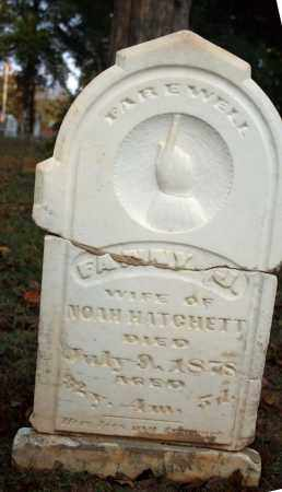 HATCHETT, FANNY J. - Searcy County, Arkansas   FANNY J. HATCHETT - Arkansas Gravestone Photos
