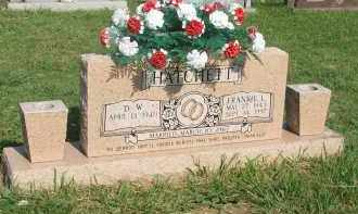HATCHETT, FRANKIE L. - Searcy County, Arkansas | FRANKIE L. HATCHETT - Arkansas Gravestone Photos