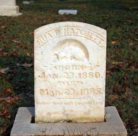 HATCHETT, HUA B. - Searcy County, Arkansas | HUA B. HATCHETT - Arkansas Gravestone Photos