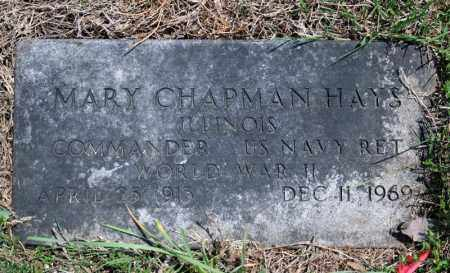 CHAPMAN HAYES (VETERAN WWII), MARY - Searcy County, Arkansas | MARY CHAPMAN HAYES (VETERAN WWII) - Arkansas Gravestone Photos